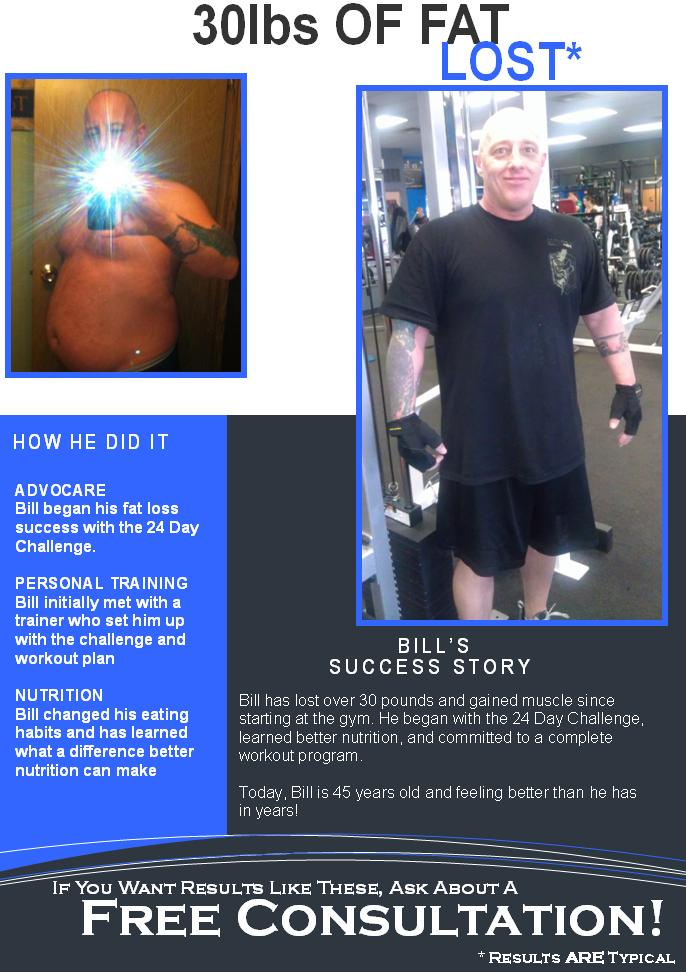 Client of the month bill s complete fitness for How to bill a client