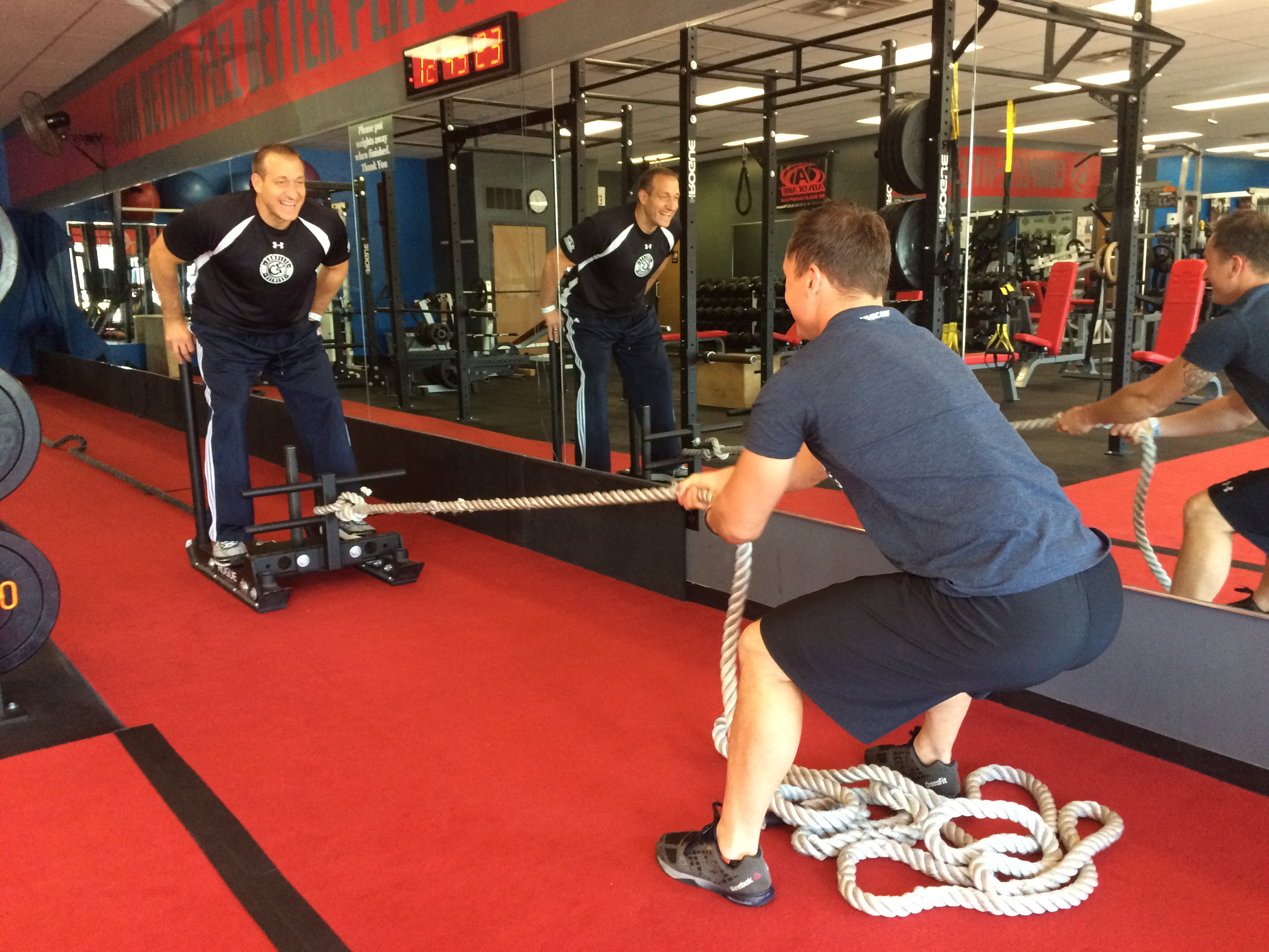 sled rope pull a trainer favorite complete fitness